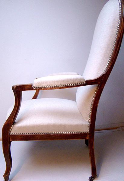 En mati re de si ge tapisserie d 39 ameublement toulouse - Vente fauteuil voltaire ...